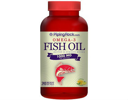 Omega 3 fish oil 1000 mg lemon flavor piping rock review for Does fish oil cause constipation