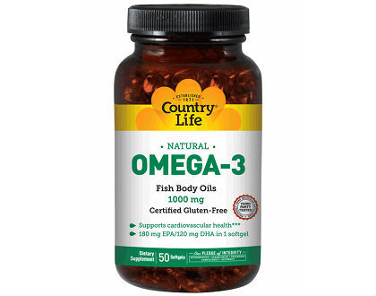 Omega 3 1000 mg fish oil country life vitamins review for Does fish oil cause constipation