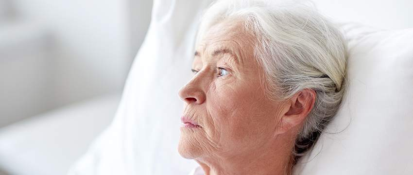 photo of adult woman with menopause