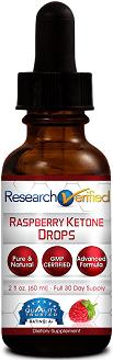 Research Verified Raspberry Ketone Drops